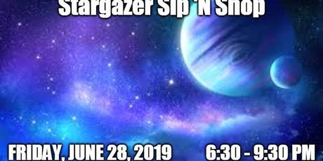 Stargazer Sip 'N Shop tickets