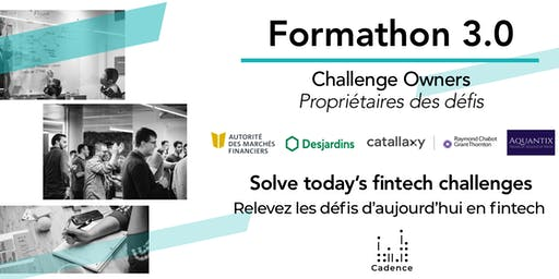Formathon 3.0   Montreal's Biggest Fintech Open Innovation Program