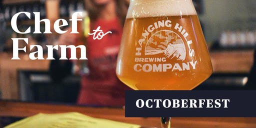 Max Chef to Brewery Dinner: Oktoberfest at Hanging Hills Brewery Hartford