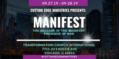 Cutting Edge Ministries Presents: MANIFEST tickets