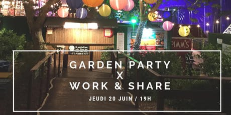 Garden Party Work & Share billets