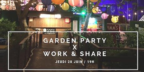 Garden Party Work & Share billets
