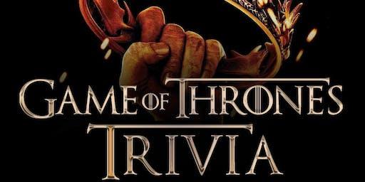 """Game of Thrones """"Beer Garden Brunch"""" Trivia"""