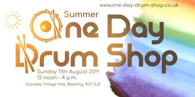 Summer One Day Drum Shop