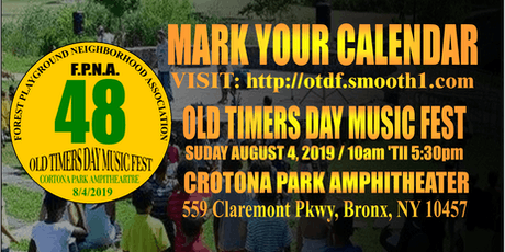 Old Timers Day Music Fest 48 tickets