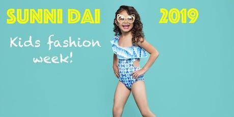 (PRESS ONLY)Miami SwimWeek Sunni Dai Kids Fashion Week Press/Industry and Influencer Registration July 13, 2019 tickets