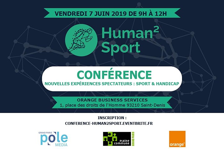 """Image pour Human2Sport """"Nouvelles expériences spectateurs : Sport & handicap"""""""