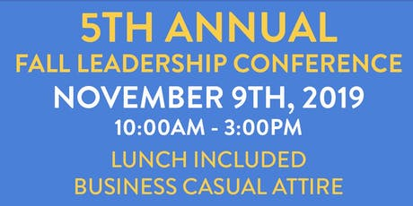 Fall Leadership Conference 2019 tickets