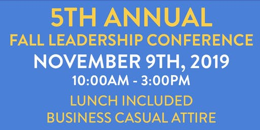 Fall Leadership Conference 2019