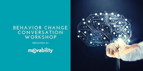 Behavior Change Conversations: 2 Day Workshop tickets