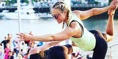 Yoga on the Boardwalk with Exhale