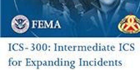 ICS-300 Intermediate - Sheridan, January 8-10, 3 days (TBC) tickets