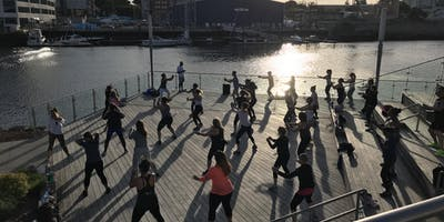 Zumba with Shaira of Chelsea Piers