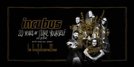 Incubus: 20 Years of Make Yourself & Beyond tickets
