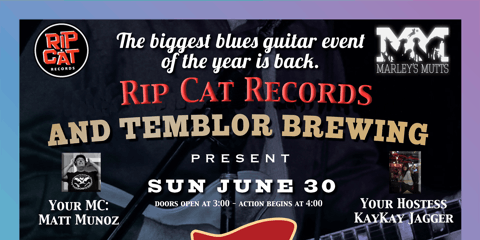 NBF, Temblor Brewing Co. & Rip Cat Records Present 6SS Kern County Regional