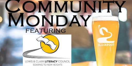 Community Monday at BRBC with L&C Literacy Council