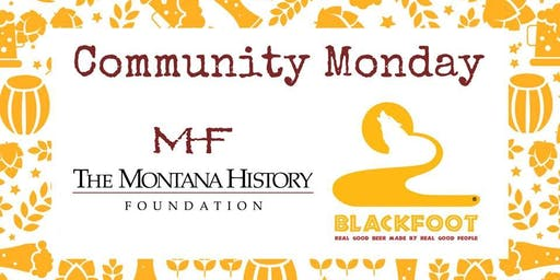 Community Monday at BRBC with MT History Foundation