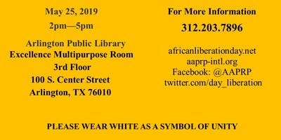 African Liberation Day 2019 - Arlington, Texas