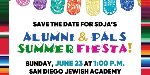 SDJA's Alumni & PALS Summer Fiesta