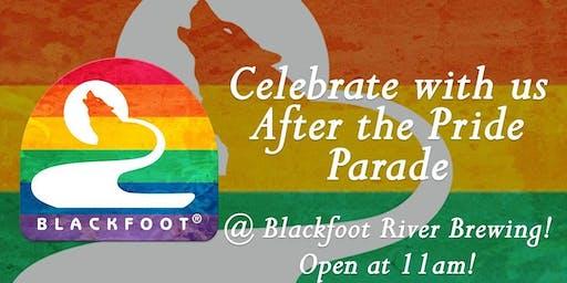 Pride Parade Social @ Blackfoot