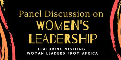 Who's in the House: Panel Discussion on Women's Leadership