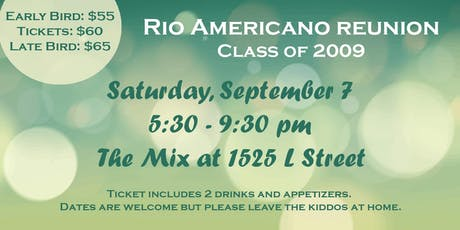 Rio Americano Reunion 2009 tickets
