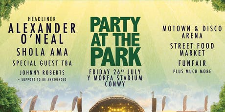 Party At The Park North Wales tickets