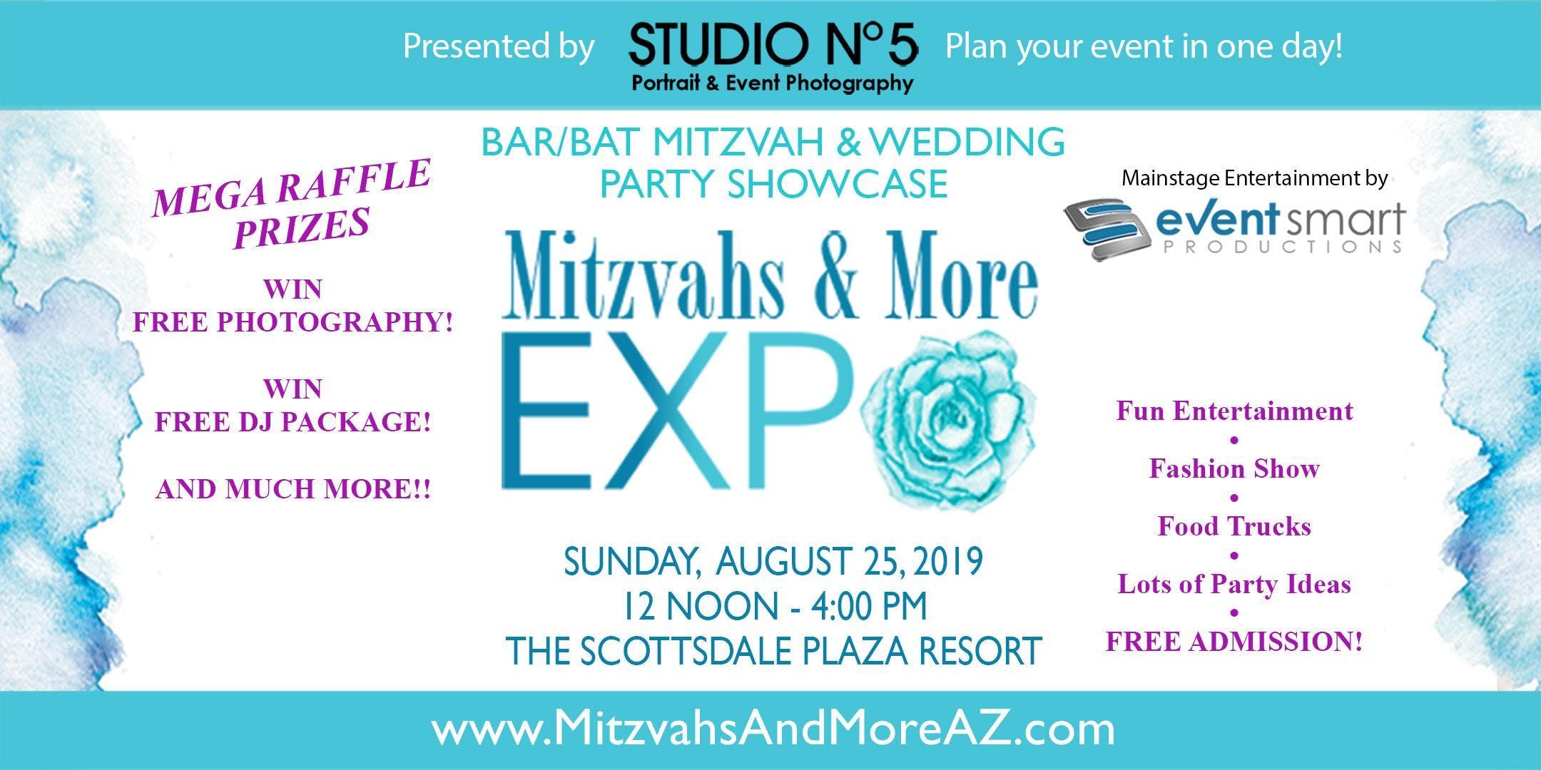 8th Annual Mitzvahs & More Expo - Bar/Bat Mitzvah & Wedding Planning Showcase