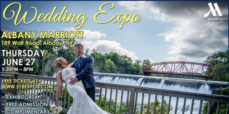 SUMMER WEDDING EXPO @ THE ALBANY MARRIOTT HOTEL tickets