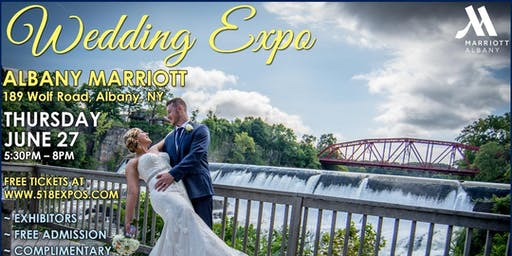 SUMMER WEDDING EXPO @ THE ALBANY MARRIOTT HOTEL