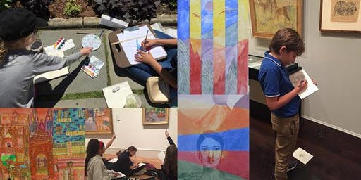 On-Site Art Summer Camp and Classes for ages 8+