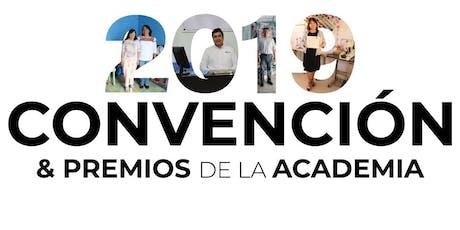 Convención Anual y Premios de la Academia 2019 entradas
