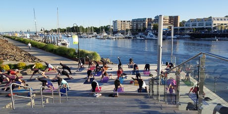 Sunset Yoga with Exhale on the Boardwalk tickets