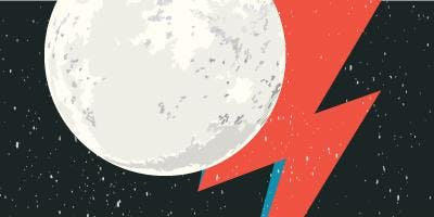BOWIE AND THE MOON: Main Moon Landing Event