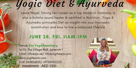 Yogic Diet & Ayurveda tickets