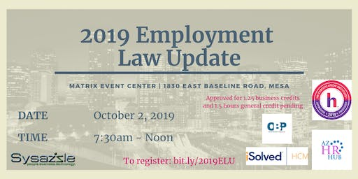 2019 Employment Law Update