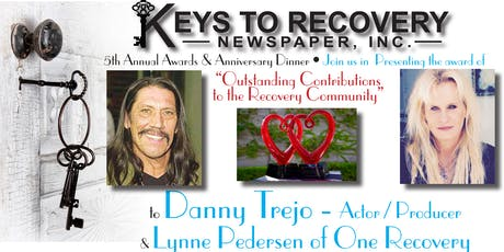 Keys to Recovery Newspaper 5th Annual Awards & Anniversary Dinner tickets