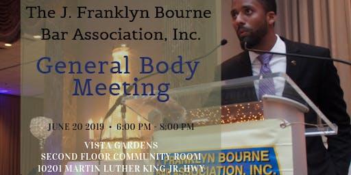 JFB GENERAL BODY MEETING AND FINANCIAL LITERACY SEMINAR