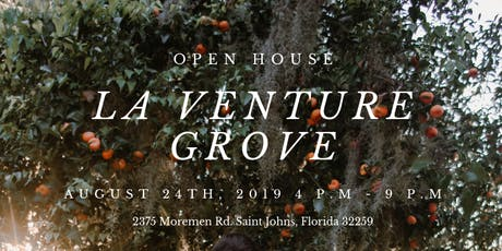 La Venture Grove Open House tickets