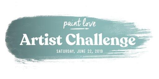 Paint Love Artist Challenge