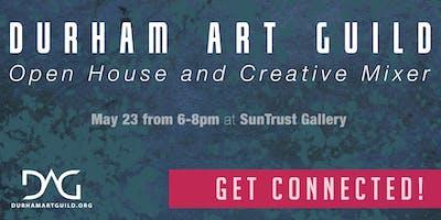 Durham Art Guild Open House + Creative Mixer 2019