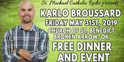 Karlo Broussard from Catholic Answers comes to Tulsa