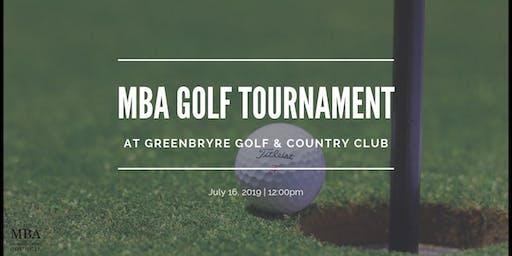 MBA Golf Tournament - Student