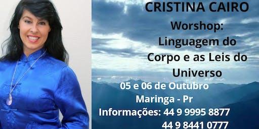 Cristina Cairo em Maringa