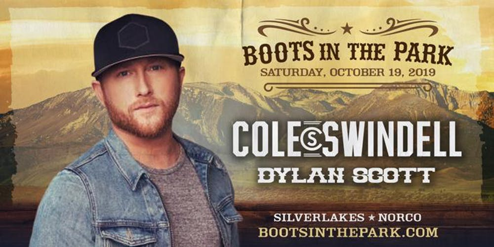0583041bc3eb5 Boots in the Park - SilverLakes with Cole Swindell