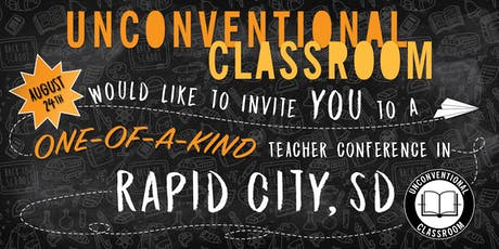 Teacher Workshop - Rapid City, SD - Unconventional Classroom tickets
