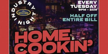 Karaoke & Industry Night Tuesday's at rácket tickets