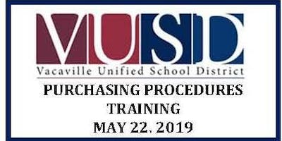 VUSD Purchasing Procedures Training