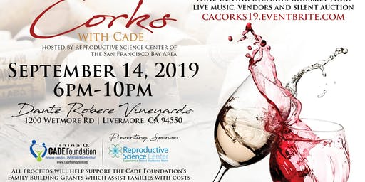 VOLUNTEER for Corks With Cade CA