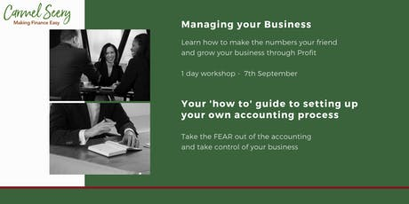 Managing Your Business  tickets